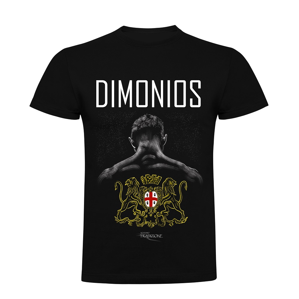 t-shirt Sardegna DIMONIOS